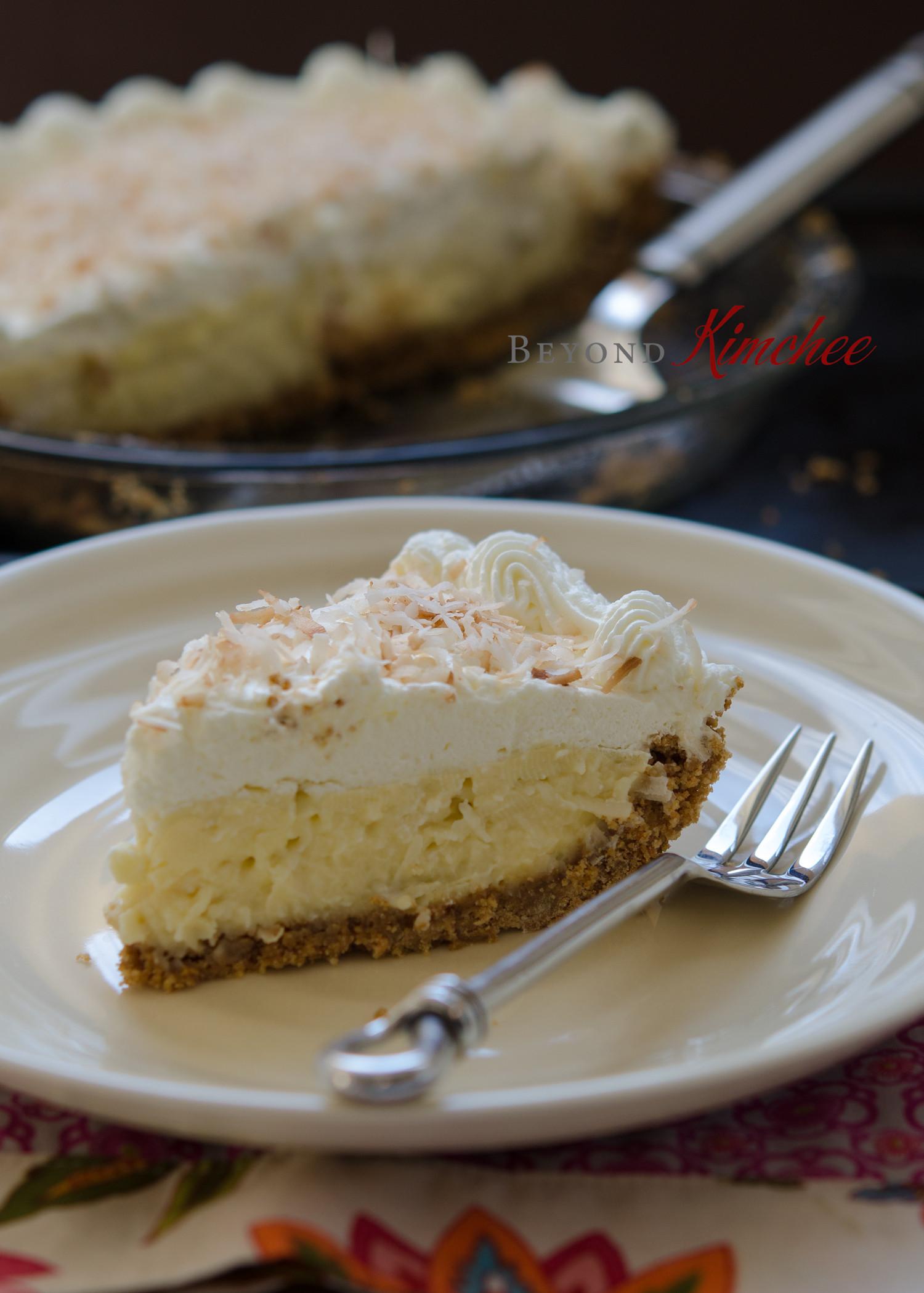 Coconut Cream Pie  Coconut Cream Pie