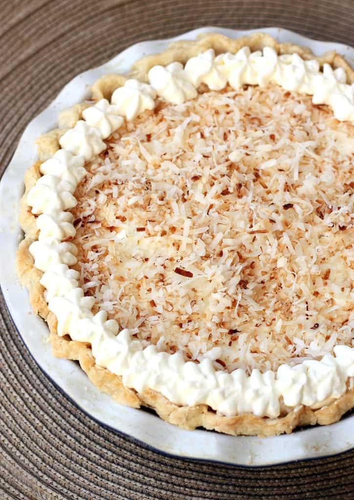 Coconut Cream Pie  Coconut Cream Pie Tastes Better From Scratch