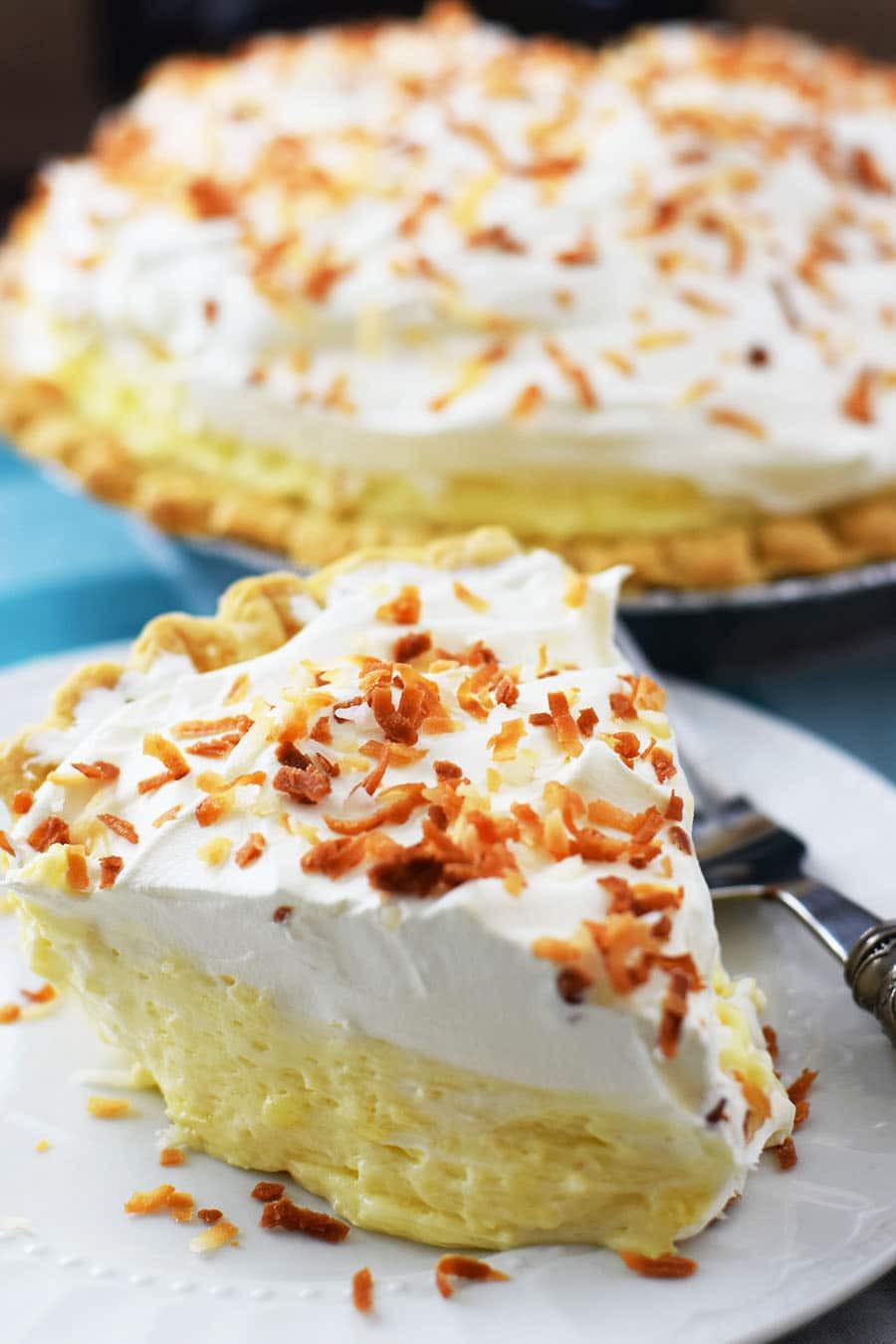 Coconut Cream Pie  Easy Coconut Cream Pie Soulfully Made