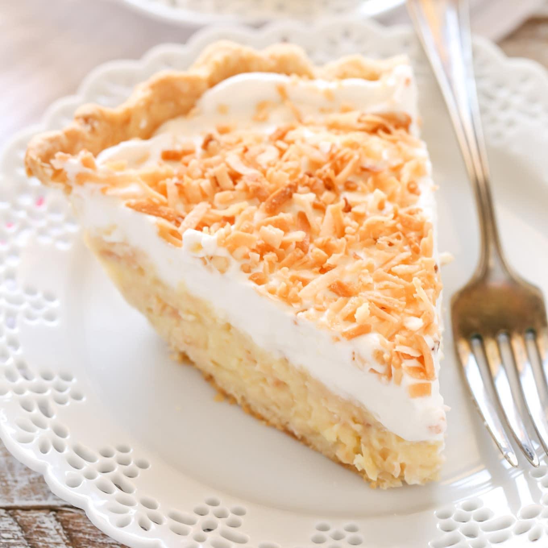 Coconut Cream Pie  Coconut Cream Pie Live Well Bake ten