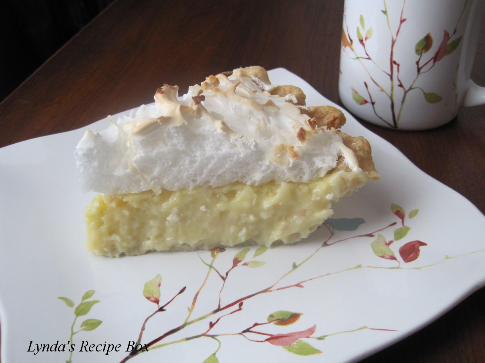 Coconut Cream Pie With Meringue  Best Coconut Cream Pie Recipe With Meringue