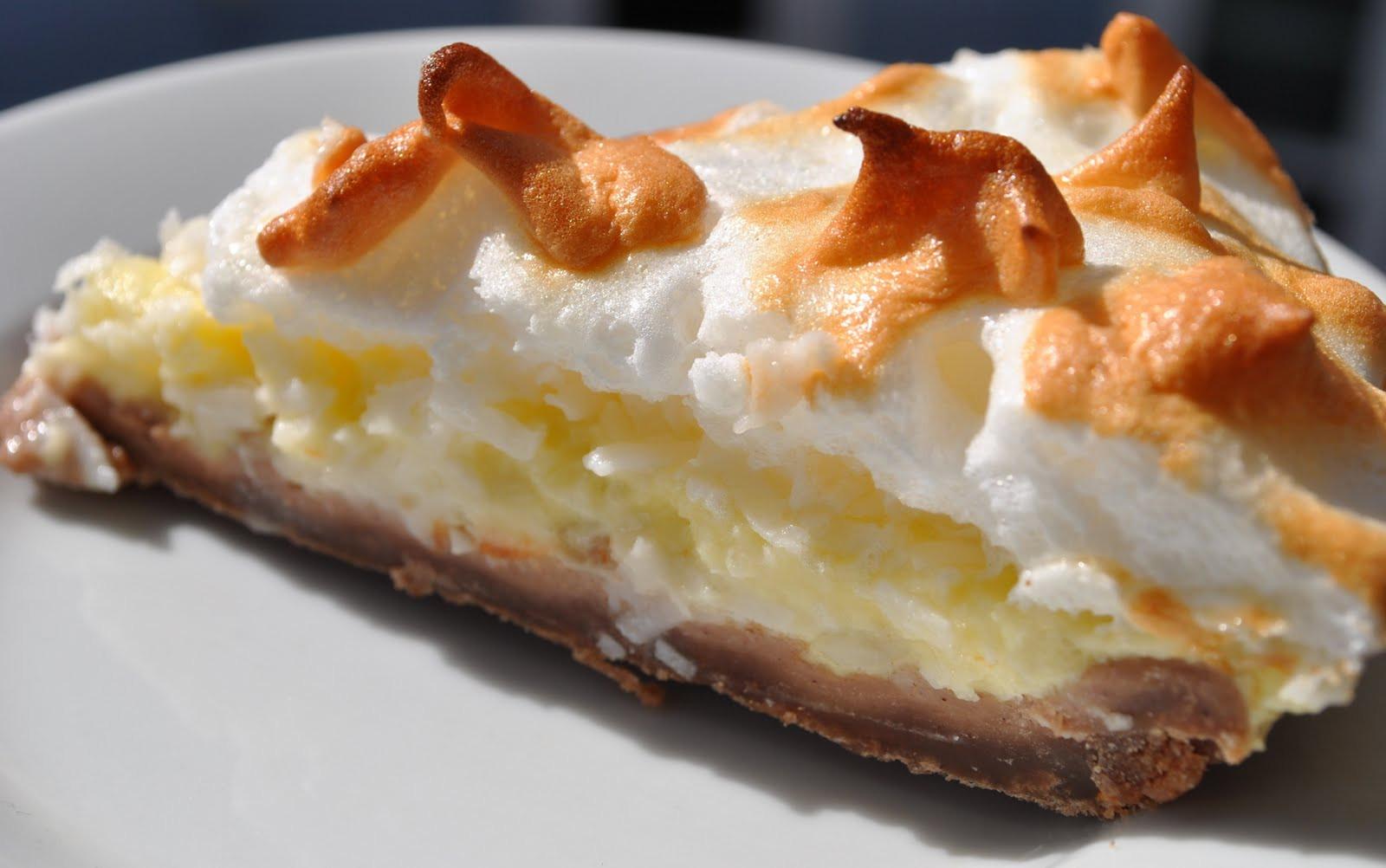 Coconut Cream Pie With Meringue  Baking Powders Coconut cream meringue pie