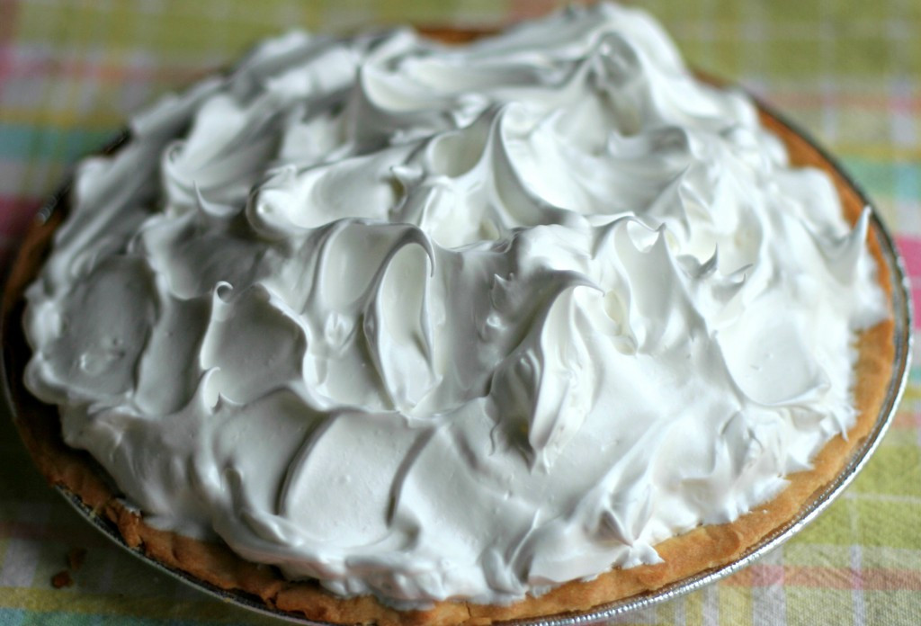Coconut Cream Pie With Meringue  Coconut Cream Meringue Pie