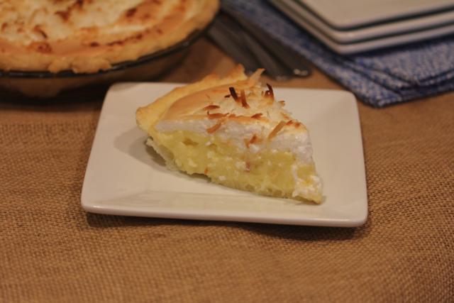 Coconut Cream Pie With Meringue  Coconut Cream Pie with Meringue Topping Lynn s Kitchen