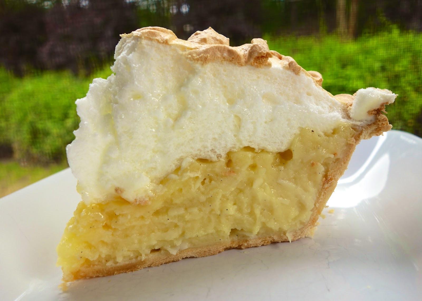 Coconut Cream Pie With Meringue  Coconut Meringue Pie