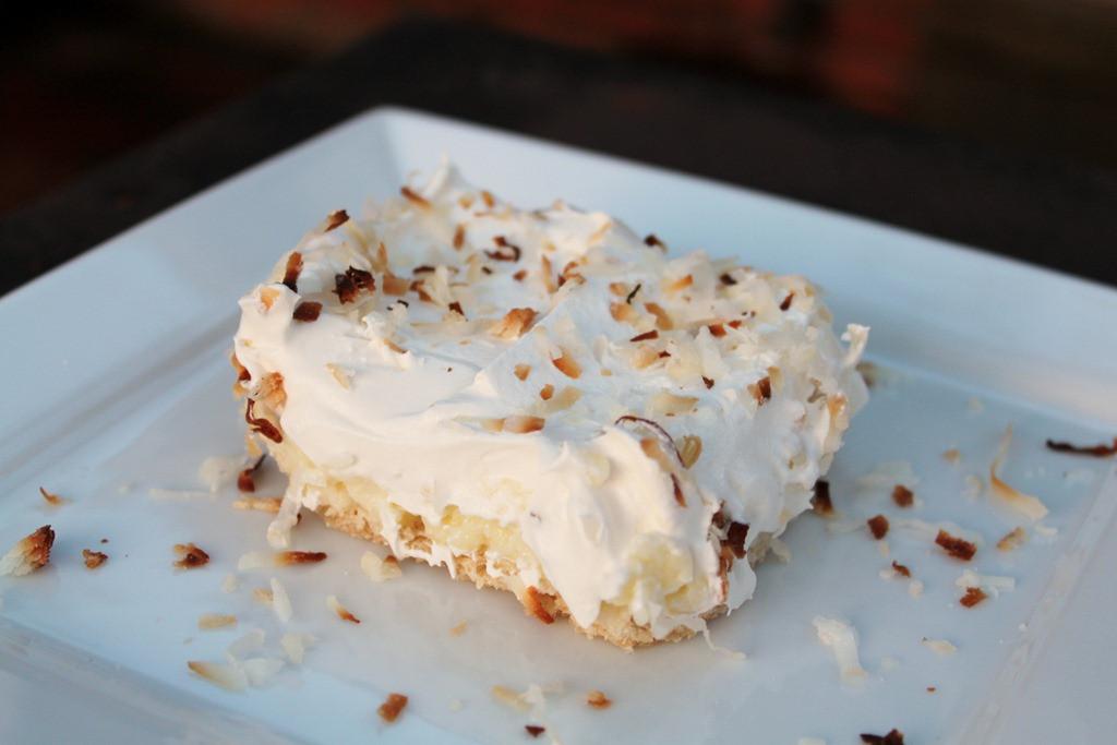 Coconut Cream Pie With Pudding  Pinterested Coconut Cream Pie Bars