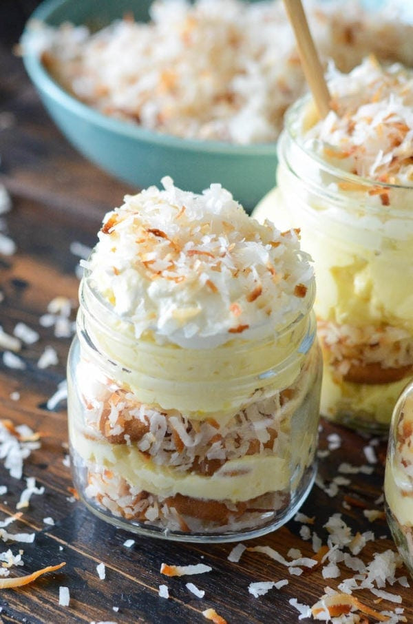 Coconut Cream Pie With Pudding  Toasted Coconut Cream Pudding