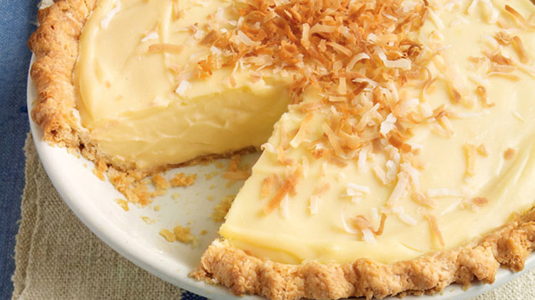Coconut Custard Pie Recipe  Coconut Custard Pie