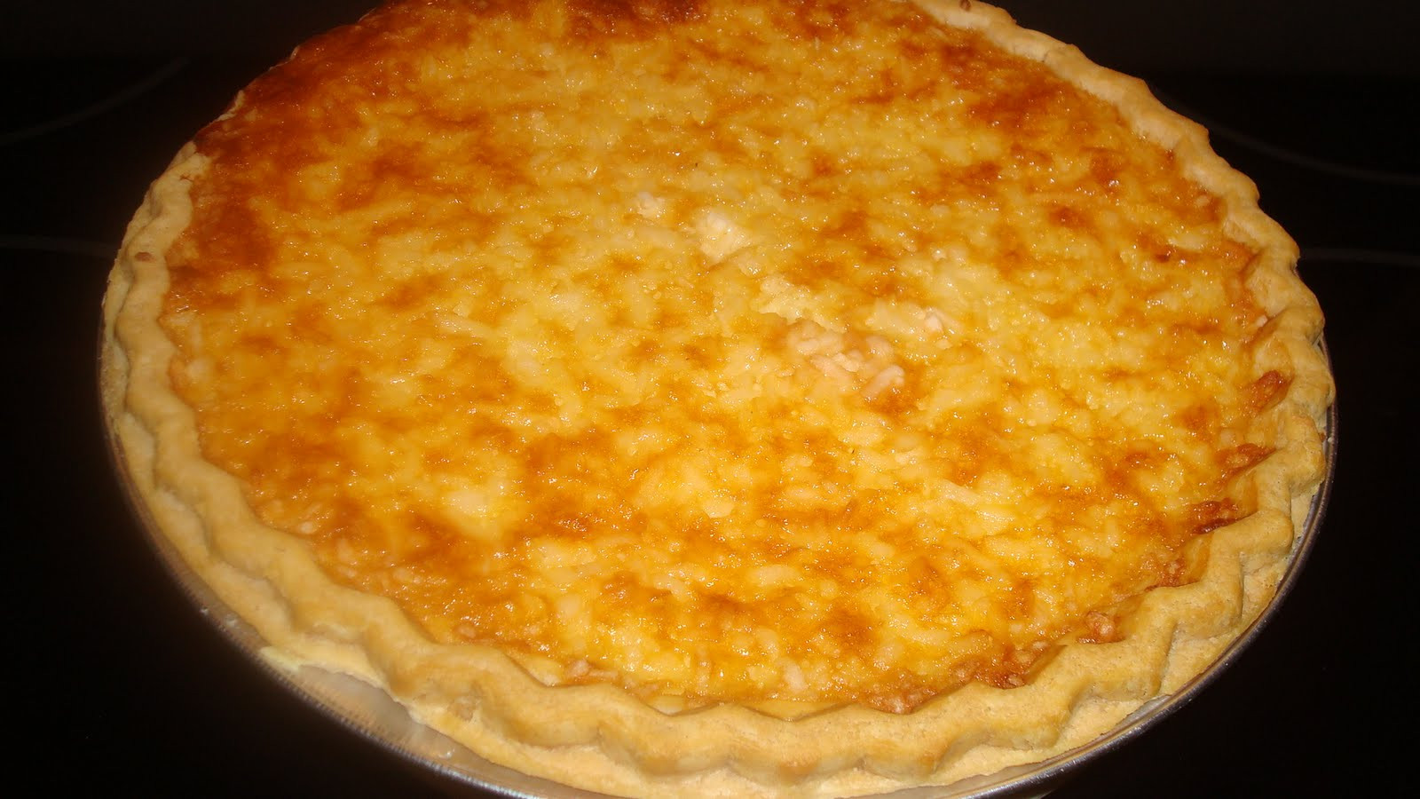 Coconut Custard Pie Recipe  mocha me Coconut Custard Pie