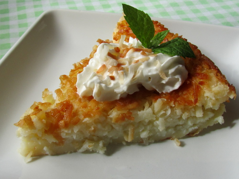 Coconut Custard Pie Recipe  Mennonite Girls Can Cook Coconut Pie e easy way