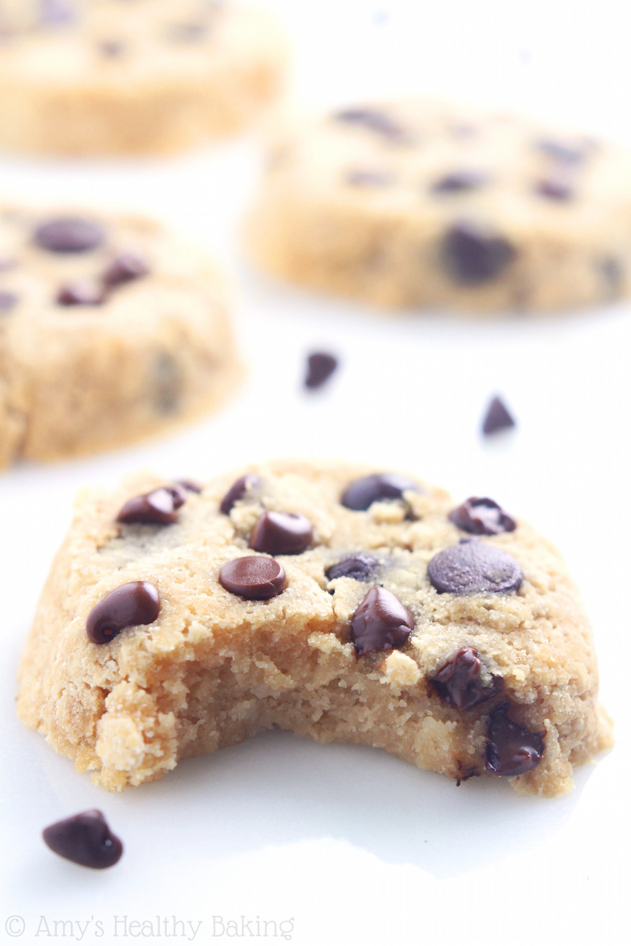 Coconut Flour Chocolate Chip Cookies  Coconut Flour Chocolate Chip Cookies