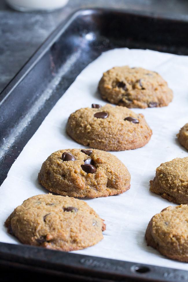 Coconut Flour Chocolate Chip Cookies  Coconut Flour Chocolate Chip Cookies Paleo Nut Free