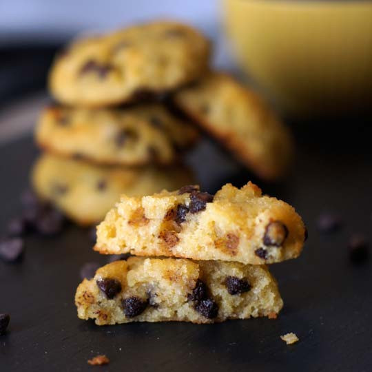Coconut Flour Chocolate Chip Cookies  The Best Coconut Flour Chocolate Chip Cookies
