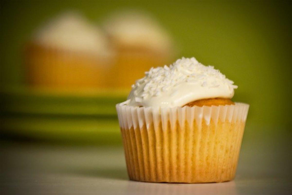 Coconut Flour Cupcakes  Delicious Vanilla Coconut Flour Paleo Cupcakes Recipe