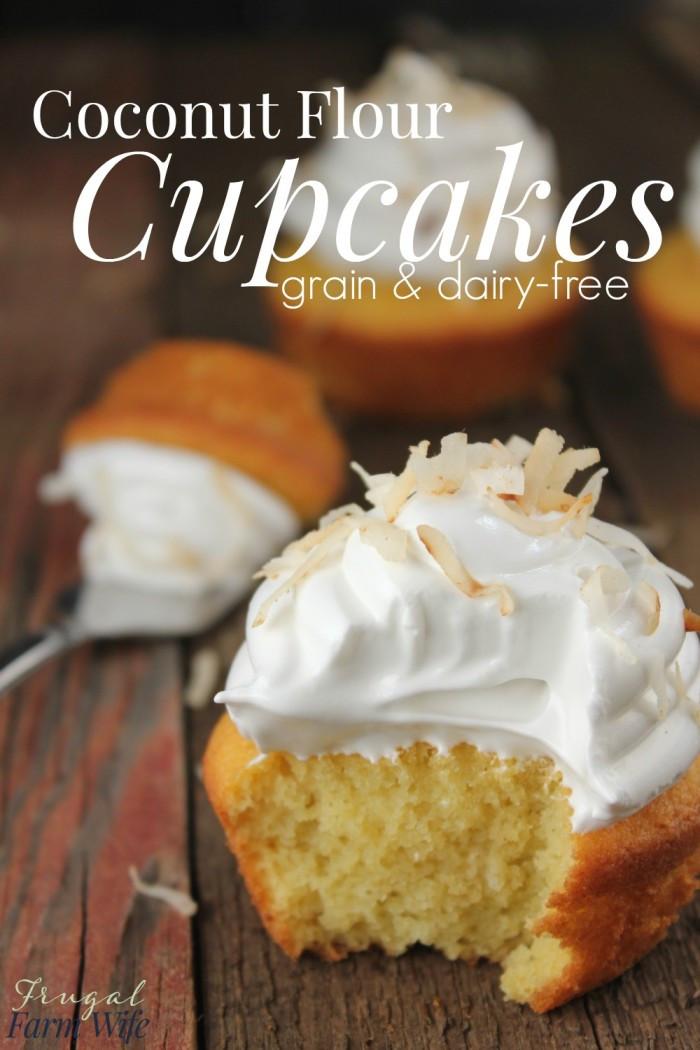 Coconut Flour Cupcakes  Coconut Flour Cupcakes Totally Grain Free