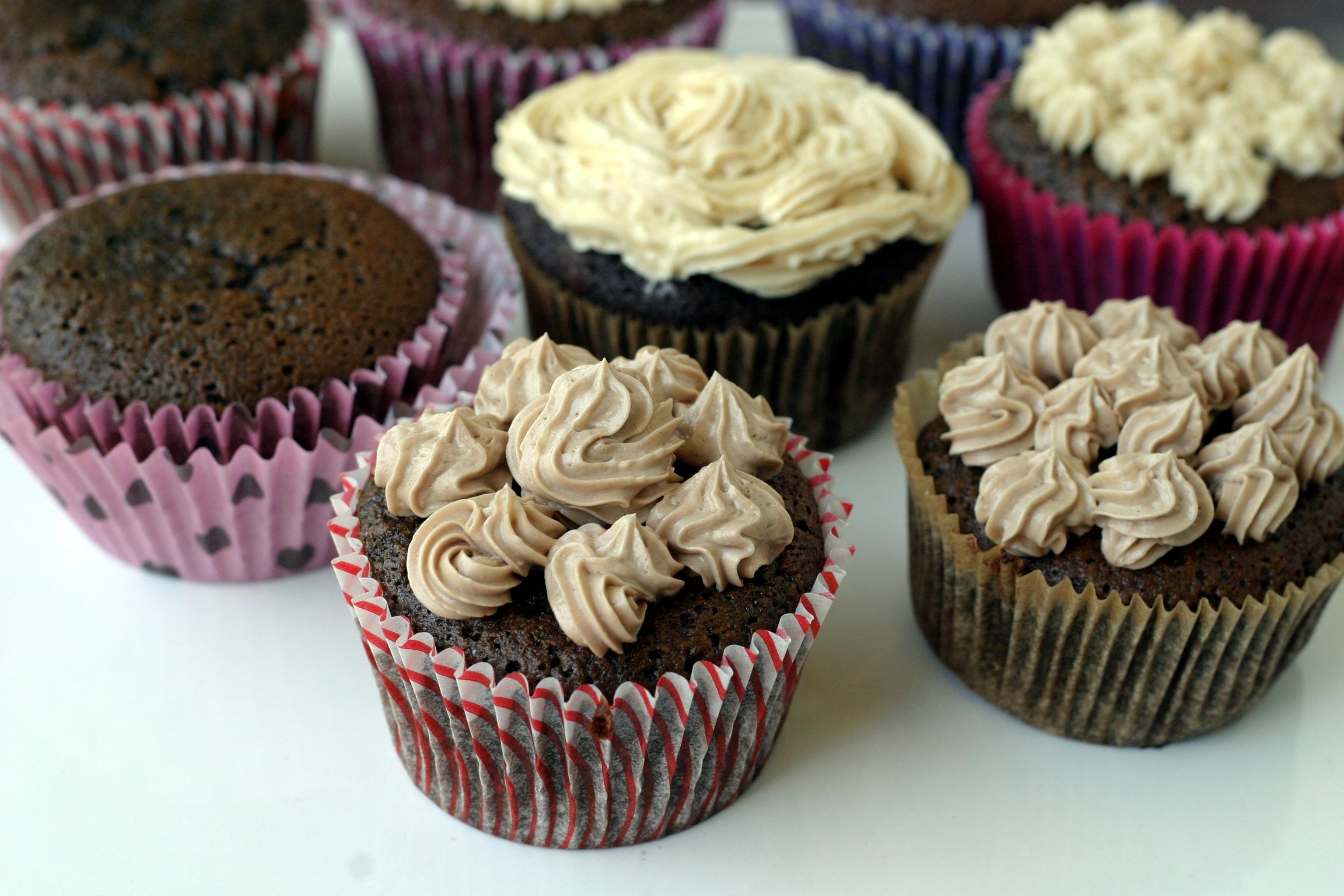 Coconut Flour Cupcakes  Chocolate Cupcakes coconut flour – fy Belly