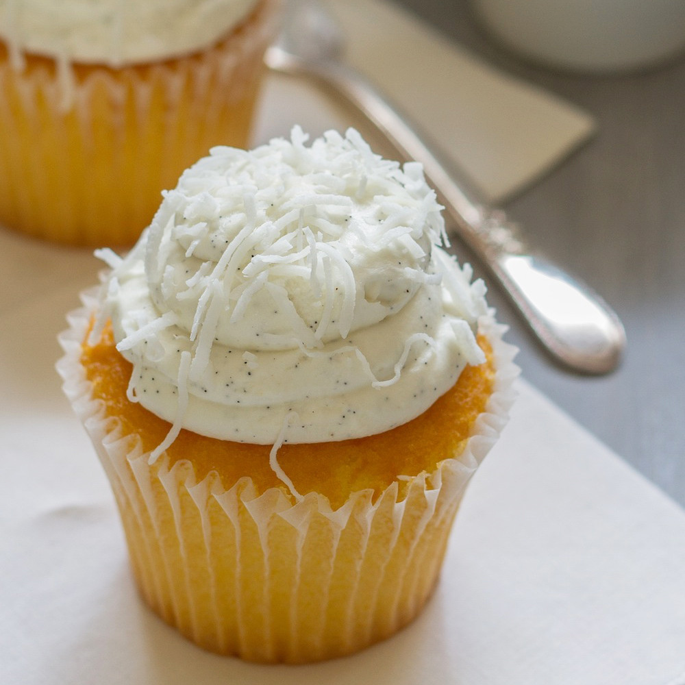 Coconut Flour Cupcakes  Coconut Flour Cupcakes Recipe Emily Farris
