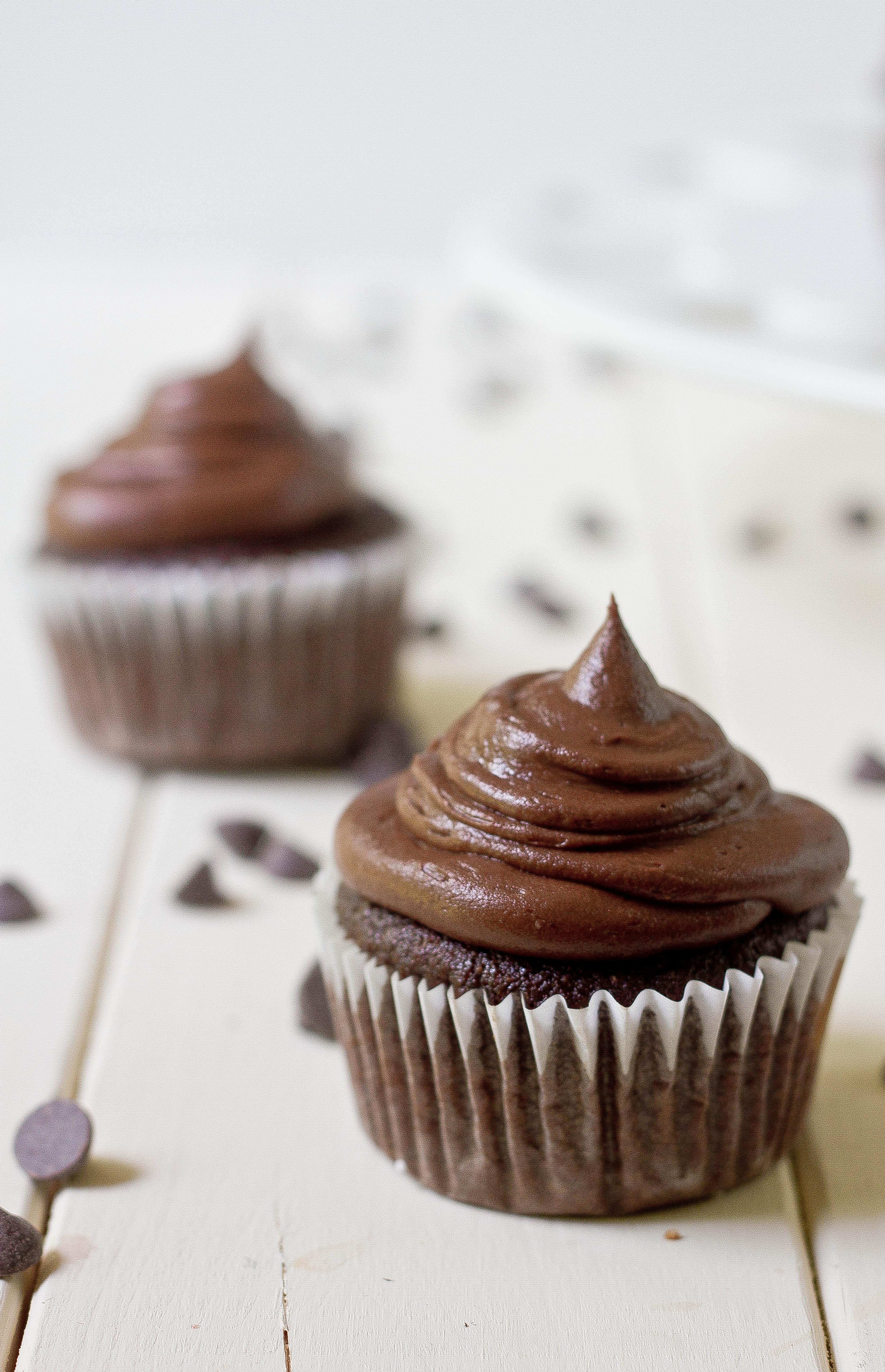 Coconut Flour Cupcakes  Paleo Chocolate Cupcakes