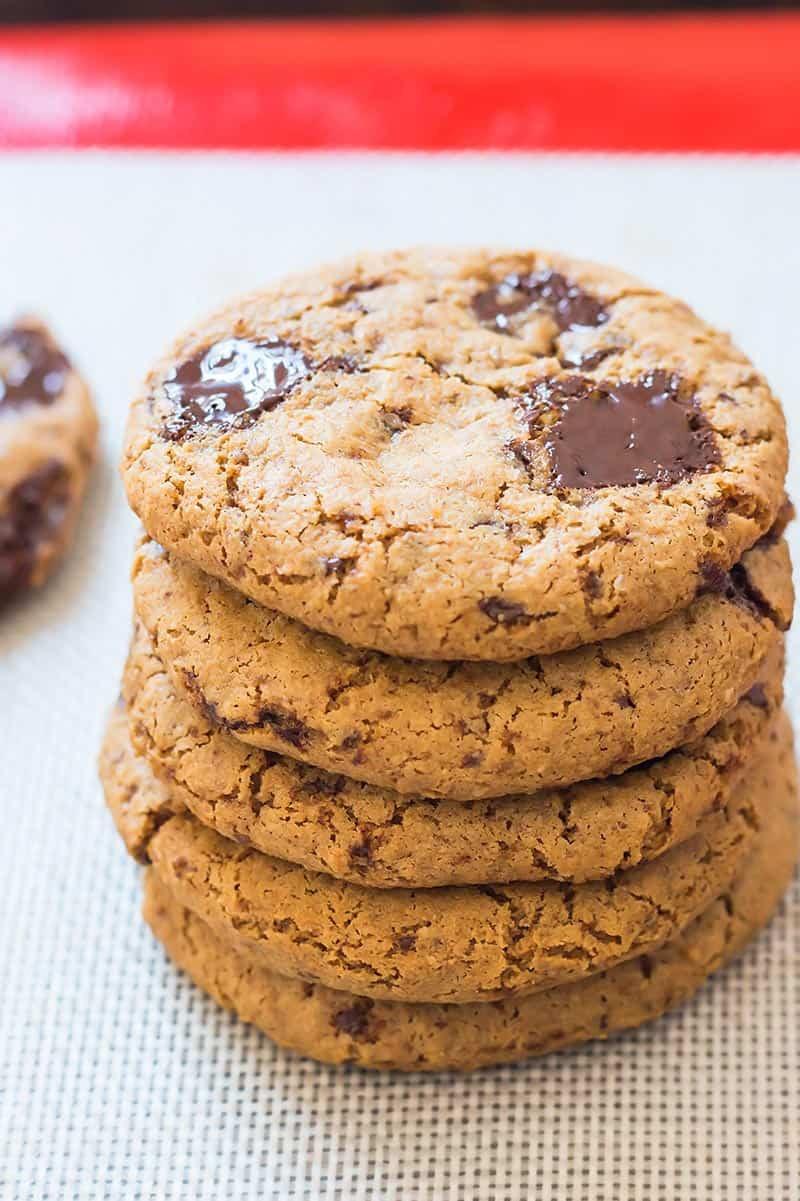 Coconut Flour Desserts  Coconut Flour Cookies VIDEO • LeelaLicious