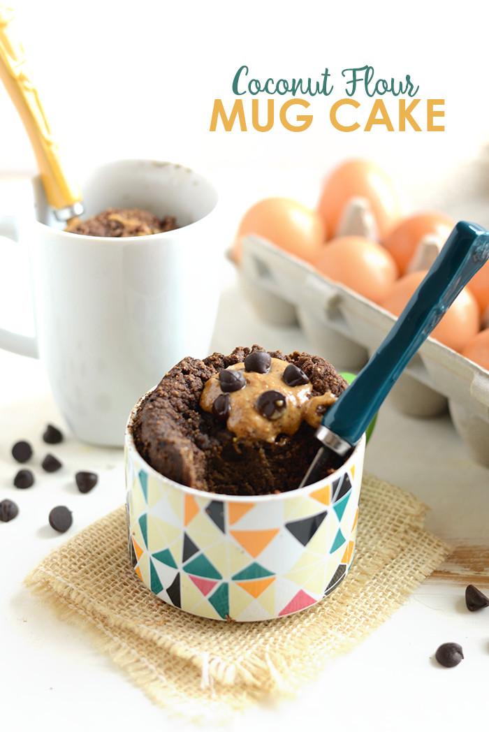 Coconut Flour Desserts  Coconut Flour Mug Cake Fit Foo Finds