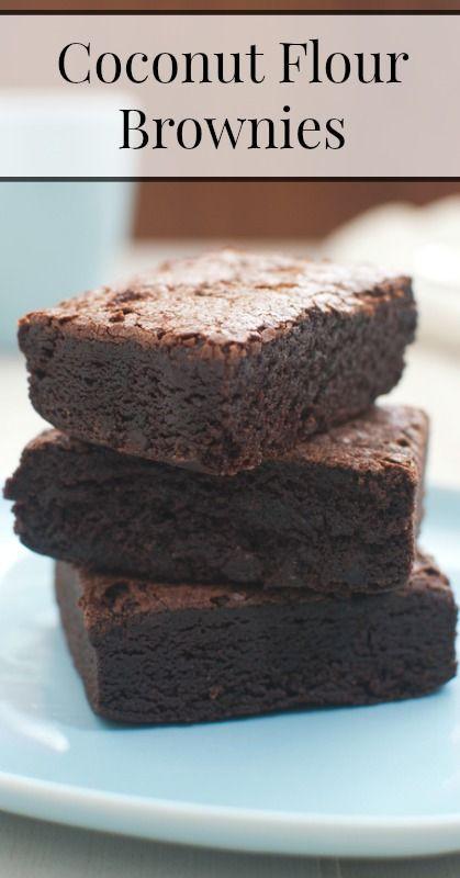 Coconut Flour Desserts  25 best images about Coconut Floor Recipes on Pinterest