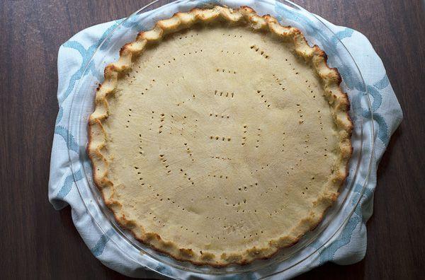 Coconut Flour Pie Crust  Basic Low Carb Coconut Flour Pie Crust
