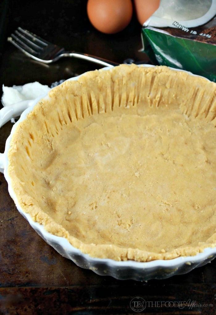 Coconut Flour Pie Crust  Low Carb Coconut flour Pie crust