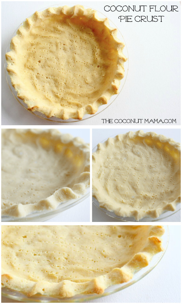 Coconut Flour Pie Crust  Coconut Flour Pie Crust For Sweet Savory Pie The