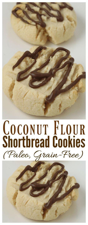 Coconut Flour Shortbread Cookies  Coconut Flour Shortbread Cookies Rebooted Mom