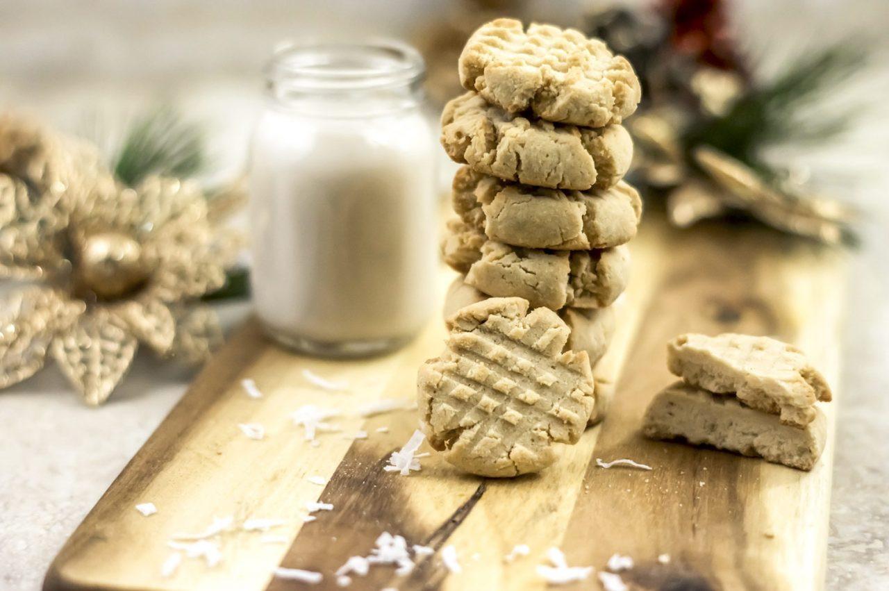 Coconut Flour Shortbread Cookies  Paleo Shortbread Cookies Made with Coconut Flour