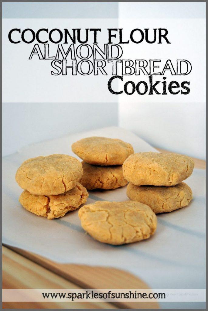 Coconut Flour Shortbread Cookies  Coconut Flour Cookies Recipe at Sparkles of Sunshine