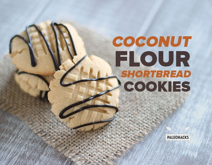 Coconut Flour Shortbread Cookies  Coconut Flour Shortbread Cookies