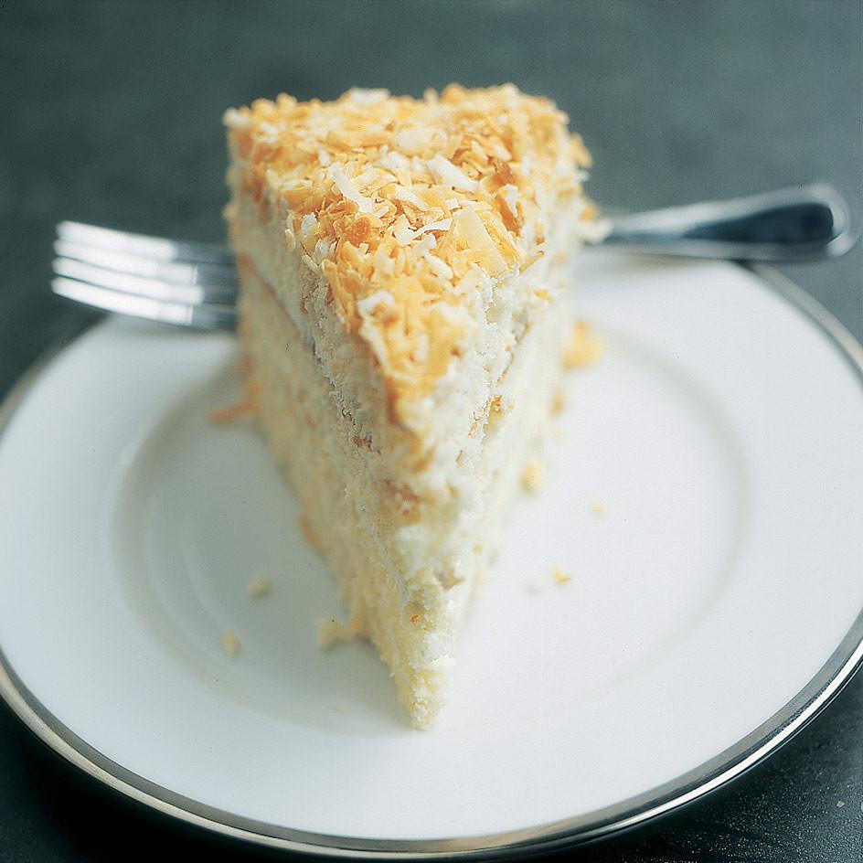 Coconut Layer Cake  Coconut Layer Cake Recipe America s Test Kitchen