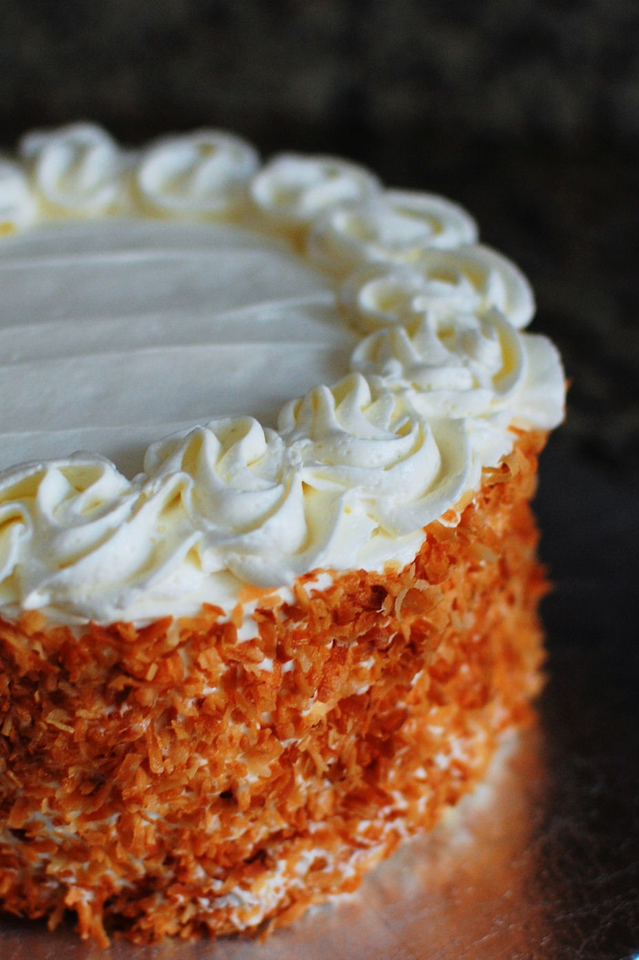 Coconut Layer Cake  Coconut Layer Cake Filled with Lemon Curd