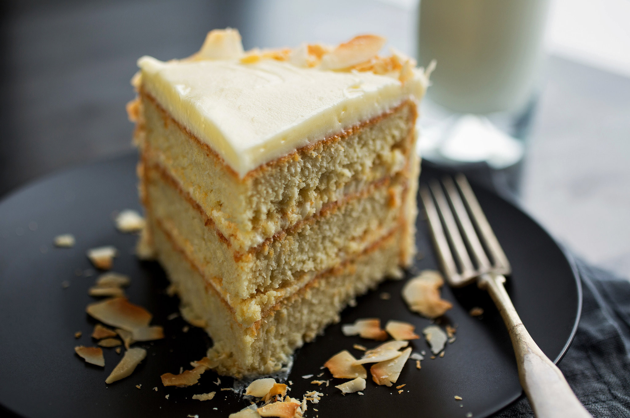 Coconut Layer Cake  Coconut Layer Cake Recipe NYT Cooking