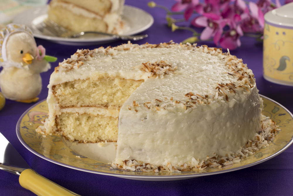 Coconut Layer Cake  Coconut Layer Cake