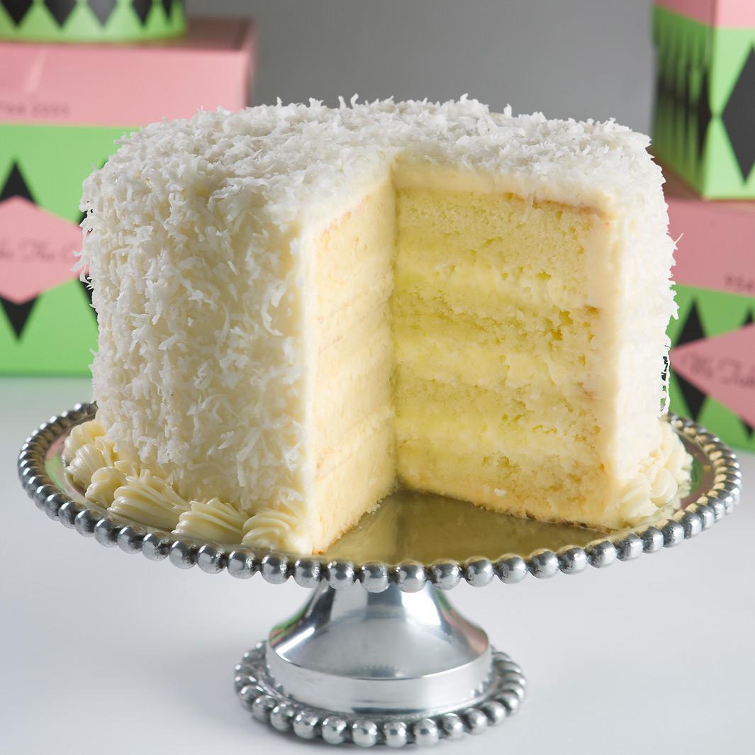 Coconut Layer Cake  Oodlekadoodle Primitives LETS EAT FRESH COCONUT CAKE