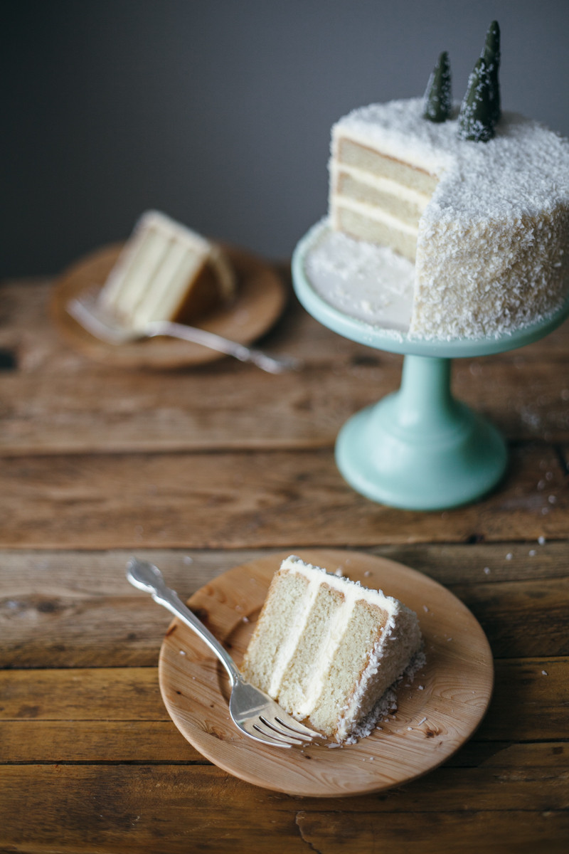 Coconut Layer Cake  coconut layer cake — molly yeh