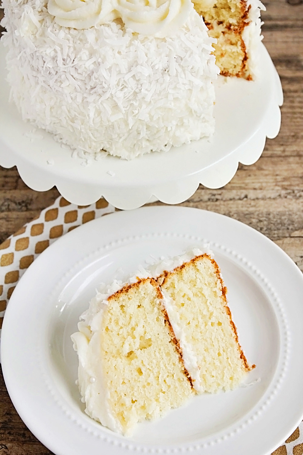 Coconut Layer Cake  The Baker Upstairs Coconut Layer Cake