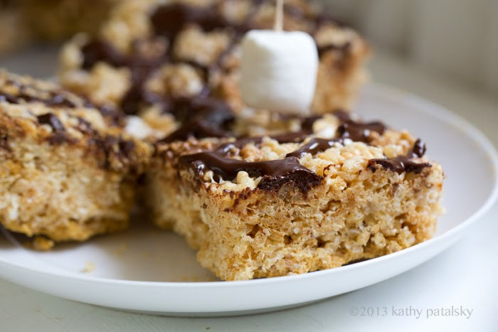 Coconut Oil Desserts  Coconut Oil Rice Crispy Treats S mores Inspired Easy