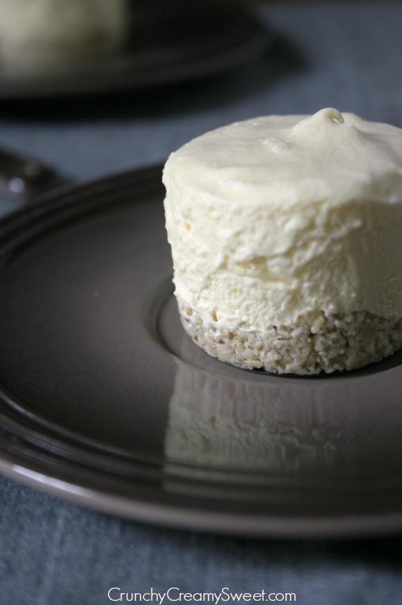 Coconut Oil Desserts  Coconut Cream Mini Frozen Desserts with White Chocolate