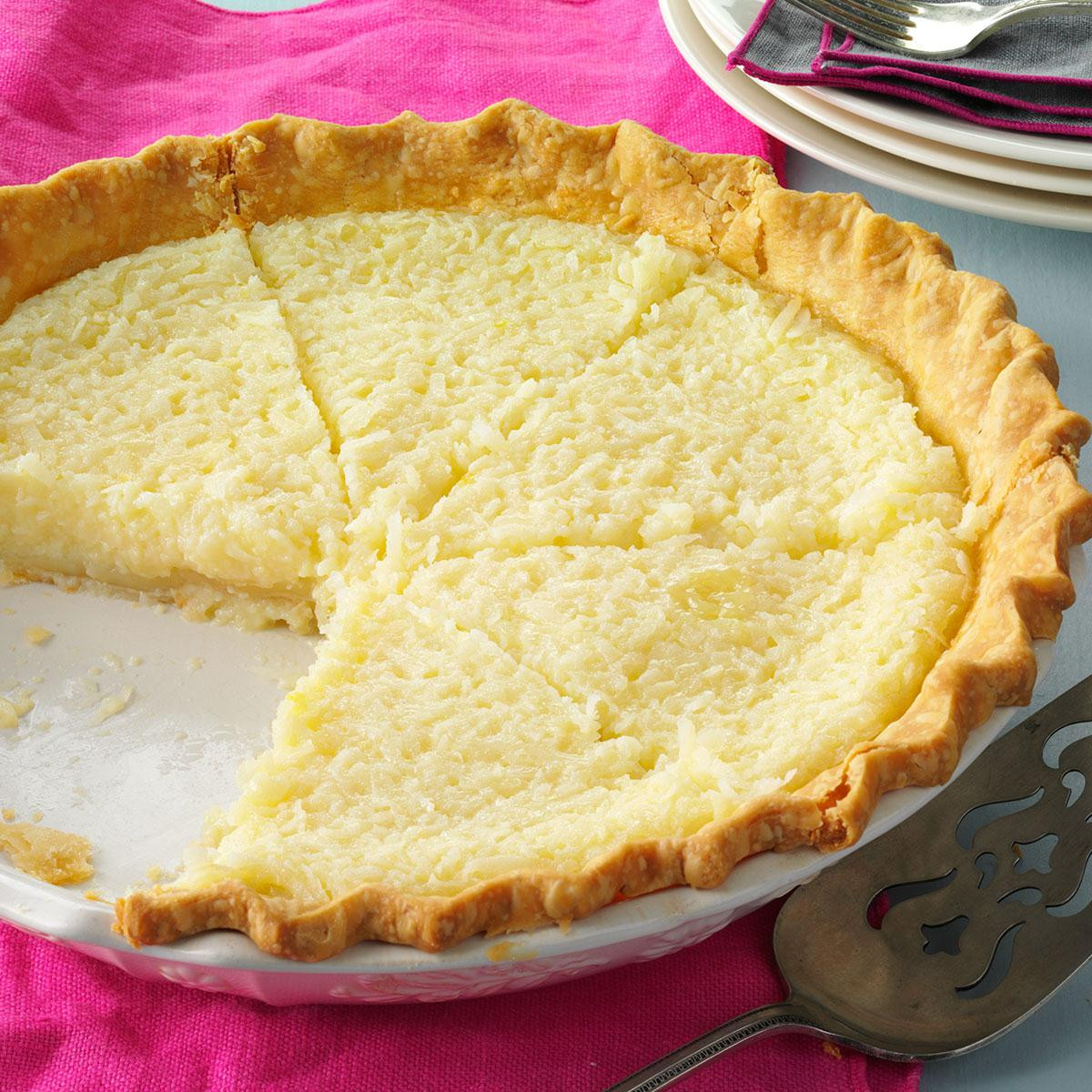 Coconut Pie Recipes  Coconut Pie Recipe