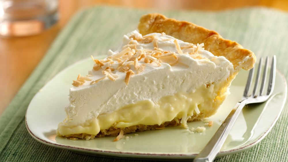 Coconut Pie Recipes  Creamy Coconut Pie Recipe Pillsbury