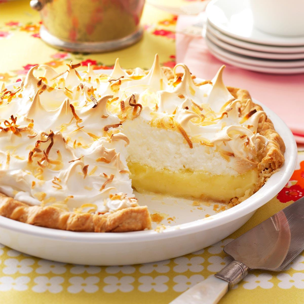 Coconut Pie Recipes  Favorite Coconut Meringue Pie Recipe