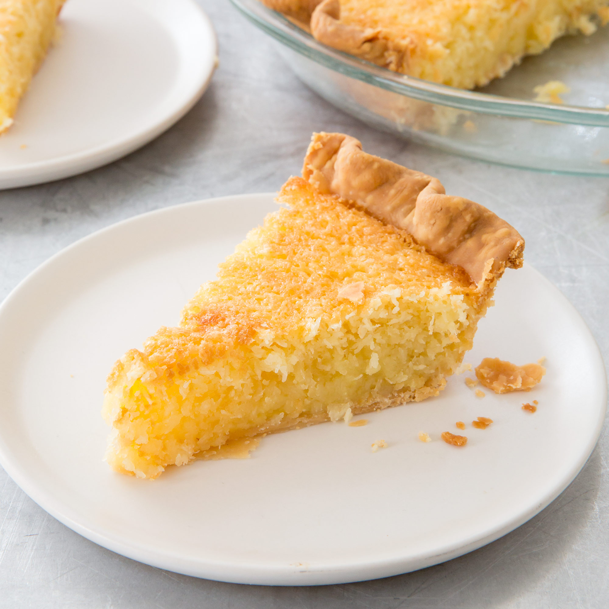 Coconut Pie Recipes  French Coconut Pie