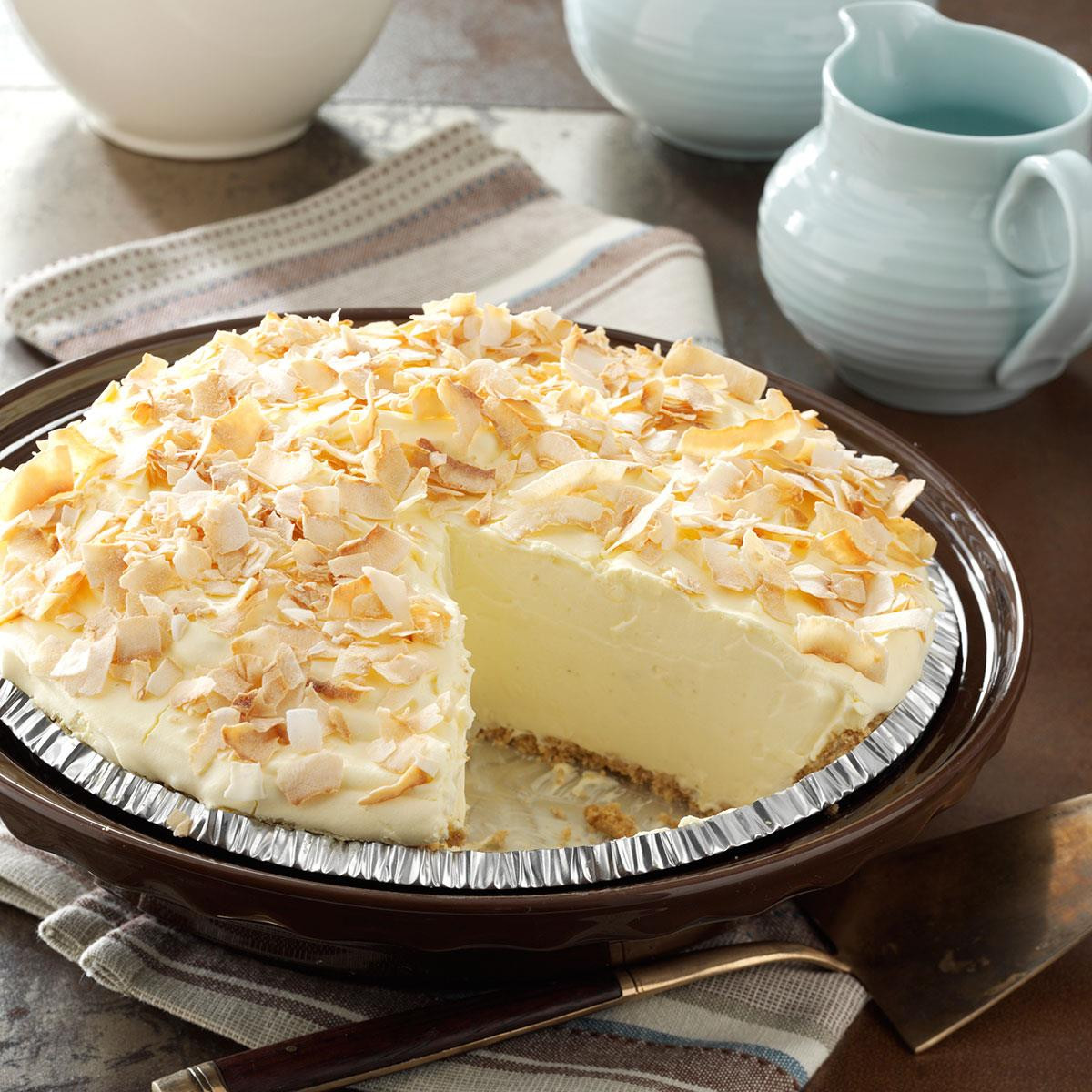 Coconut Pie Recipes  No Cook Coconut Pie Recipe