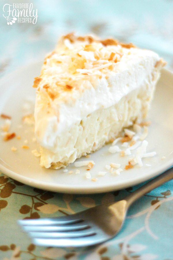 Coconut Pie Recipes  how to make coconut pie from scratch