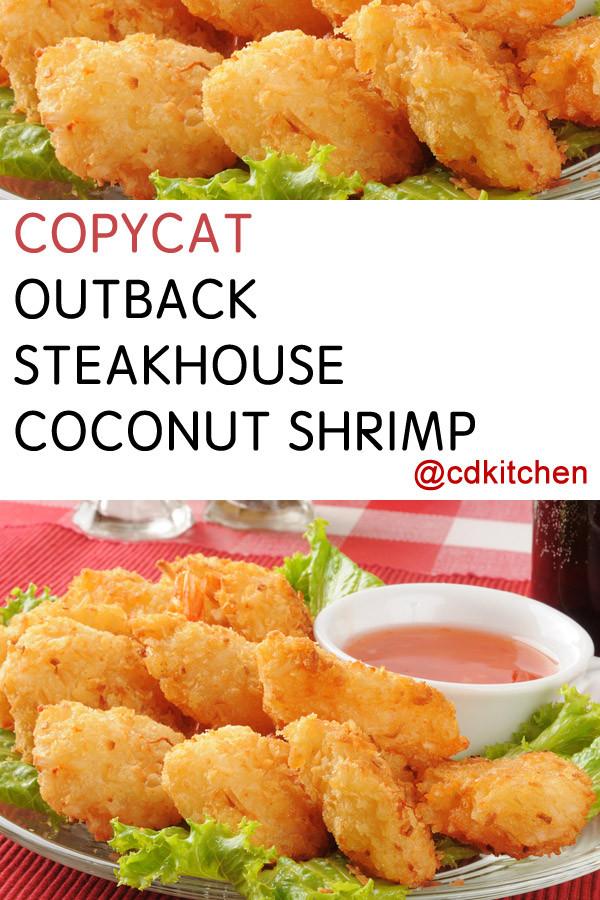 Coconut Shrimp Recipes  Copycat Outback Steakhouse Coconut Shrimp Recipe