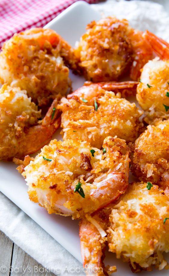 Coconut Shrimp Recipes  Easy Coconut Shrimp Sallys Baking Addiction