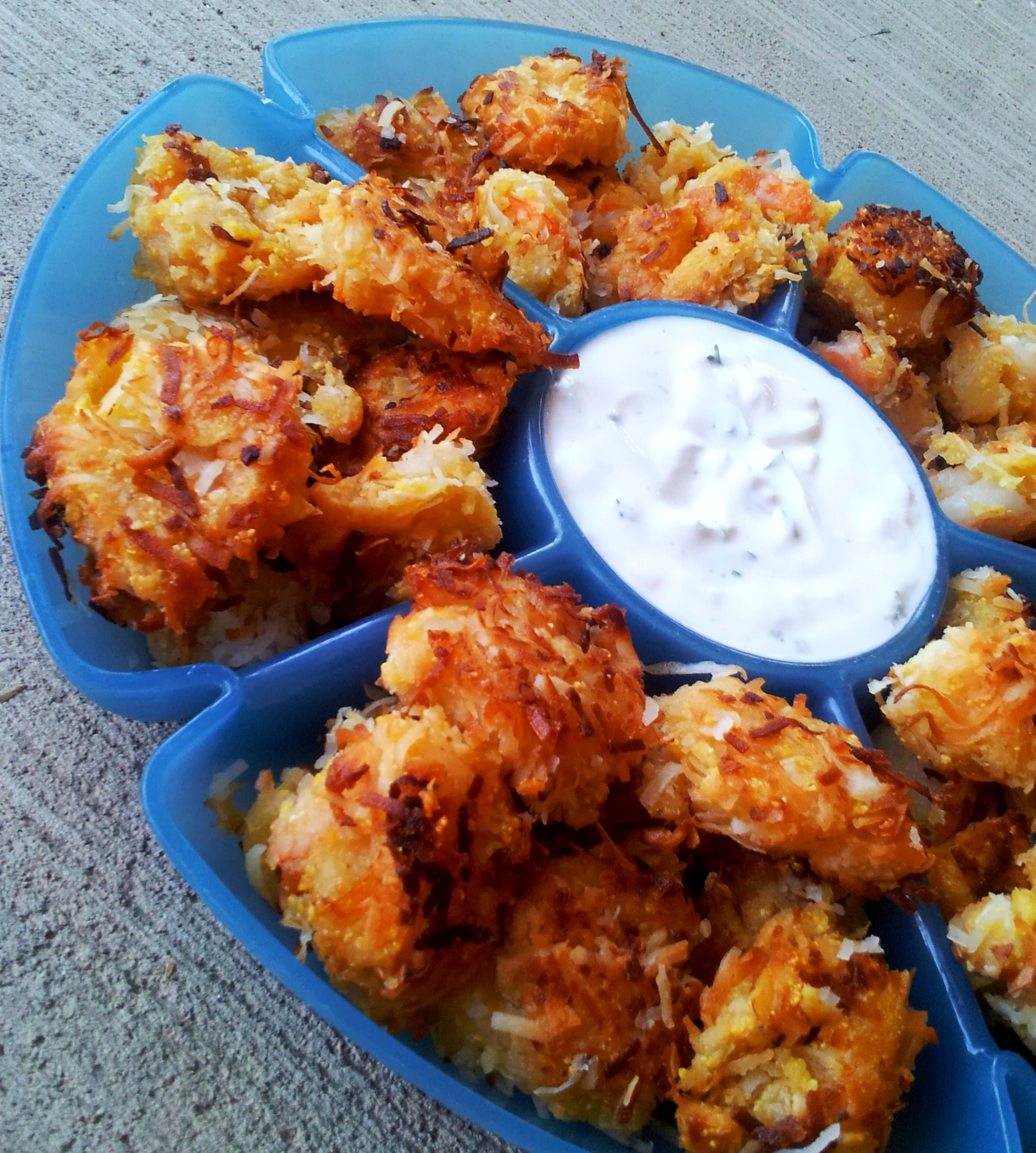 Coconut Shrimp Recipes  Coconut Shrimp with Tangy Greek Yogurt Sauce